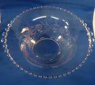 """Candlewick Bowl with Cutting Gradurated Beads 10"""" by 12"""""""