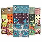 HEAD CASE DESIGNS FLORAL DOTS HARD BACK CASE FOR SONY PHONES 2