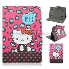 "For Alcatel One Touch Pixi 7""  Fire 7"" Tablet Universal Leather Case Cover +Pen"