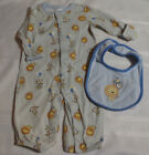 Gymboree Brand New Baby Boys Lion 0-3 or 3 6 12 Month Pajama One Piece NWT