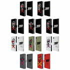 OFFICIAL 5 SECONDS OF SUMMER X-SKULLS LEATHER BOOK WALLET CASE FOR SONY PHONES 1
