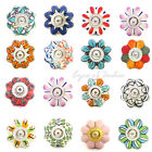 LARGE SELECTION - CERAMIC DECORATIVE CABINET DOOR CUPBOARD DRESSER KNOBS PULLS H