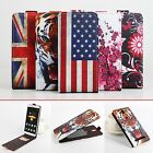 Protective Printing PU Leather Flip Cover Case for Elephone P8000 Mobile Phone