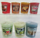 Village Candle Small Wax Votive Candle 8 Scents To Choose From- Great Price!