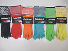 Cuisinart 100% latex cleaning gloves/kitchen/dishes with extended cuff of 4 in