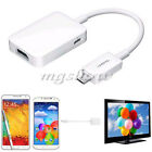 Samsung MHL HDMI HDTV Adapter Micro USB Cable for Galaxy S4 S3  Note2 3 4 Tab