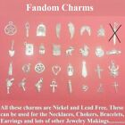 Beautiful Supernatural Inspired 32 Different Silver (Nickel & Lead Free) Charms