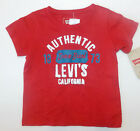 Levi's Infant Boys T-Shirt Red Size 12 Months NWT