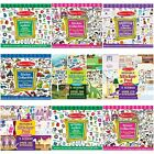Sticker Pads Reusable Different Designs Arts N Crafts By Melissa & Doug