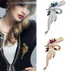 New Charming Crystal Brooch Lovely For Female Retro Fashion Women Jewelry Gift R