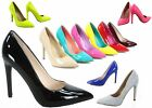 Kyпить NEW Women's Pointy Toe  Stiletto Chunky High Heel Dress Pump Shoes Size 5.5 - 11 на еВаy.соm