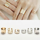 Hot Sale New 3Pcs/Set Fashion Top Of Finger Adjustable Open Ring Jewelry Gift JR
