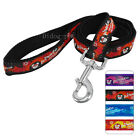 Didog Pirate Embroidered Design Nylon Dog Leash Lead for Medium Large Dogs