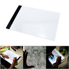 A4 LED Art Stencil Board Light Box USB Tracing Drawing Table Adjustable Base Pad