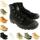 Womens Palladium Pampa Hi Sneakers Lace Up Canvas Ankle High Boots US 5.5-10.5