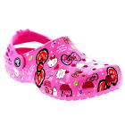 Kids Girls Crocs Hello Kitty Good Times Beach Holiday Sandals Clogs Shoes US 2-3