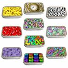 Stacked Images Slim Hinged 1oz Tin Tobacco Storage Choose Your Design
