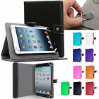 "Folio Leather Case Cover For Universal Android Tablet PC 7"" 8"" 9"" 10"" 10.1"""