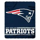 "New NFL Football SOFT Fleece Throw Blanket 50"" x 60"" Pick Your Team - ON SALE"