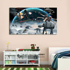 Star Wars Stretched Canvas Print Framed Wall Art Boy Room Nursery Decor Painting $59.99 AUD on eBay