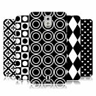 HEAD CASE DESIGNS BLACK AND WHITE PATTERNS HARD BACK CASE FOR SAMSUNG PHONES 2
