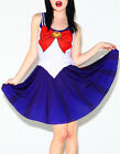 Kawaii Clothing Cute Sailor Moon Dress Vestido Harajuku Japanese Korean Ropa Emo