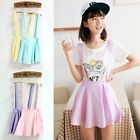 Kawaii Clothing Ropa Cute Skirt Falda Suspender Pastel Harajuku Korean Japanese