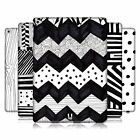 HEAD CASE DESIGNS BLACK AND WHITE DOODLE PATTERNS HARD BACK CASE FOR APPLE iPAD