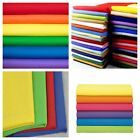 """Broadcloth Fabric 45"""" Cotton Polyester Blend - Sold By The 3 Yard Bolt"""