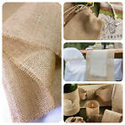 "Hessian Fabric Natural Jute Burlap 40"" 100CM Craft Wedding Decor Upholstery 10oz"