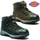 DICKIES MEDWAY WATERPROOF LEATHER MIDSOLE STEEL TOE CAP SAFETY ANKLE BOOTS SZ