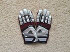 NEW Adidas SCORCH LIGHTNING Football Receiver Gloves adult M L XL Maroon