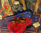 Violin Stillife Musician by Painter Suzanne Valadon 16X20 Art Poster FREE SH