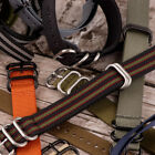 12 Inch - Extra Long Premium / Heavy NATO Nylon Replacement Watch Strap Band image