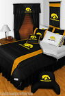 Iowa Hawkeyes Comforter Sham and Valance Twin Full Queen King Size