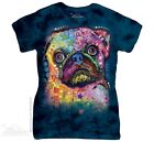 New The Mountain Russo Pug Womens T Shirt