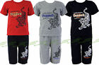 Boys Top & Shorts 2 Piece Tiger Set Kids Clothes Childrens Summer Ages 2-8 Years