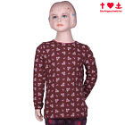 BLUTSGESCHWISTER Winterkind Shirt tender memories bouquet - Kinder Shirt NEU