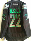 NHL Vancouver Canucks Daniel Sedin Premier Ice Hockey Shirt Jersey
