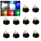 10x T4.2 White T5 Neo Wedge 2 SMD 3528 LED Car Bulbs HVAC Climate Control Lights