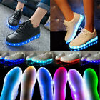 Unisex LED Light Lace Up Luminous Shoes Sportswear Sneaker Fashion Casual Shoes