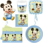 Baby Micky Maus Kindergeburtstag Babyshower Party Mickey Mouse 1. Geburtstag Set