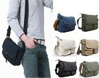 Men Women Canvas shoulder Messenger Bag Mobile Satchel Case Pouch Pocket 2371