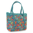 Collections Etc Paisley Quilted Tote Bag