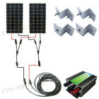 160W 300W 600W 900W 1.2KW Off Grid System Complete Kit Mono Solar Panel for RV