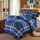 Bedroom Single Double King Super Duvet Quilt Cover Pillowcase Bedding Set