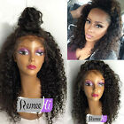 "4""*5"" Silk top Sexy Curly 100% Brazilian Remy Human Hair Woman Lace Full Wig"