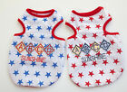 Внешний вид - Cute Summer Stars Sunshine Pet Puppy Dog Cat Pet Clothes Vest T-Shirt Apparel