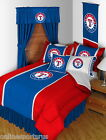Texas Rangers Comforter Sham & Valance Twin Full Queen King Size