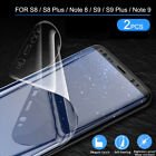 2 Pack Full TPU Screen Protector for Galaxy S20/Ultra/S10/S9/S8/Note 10/9/8/Plus